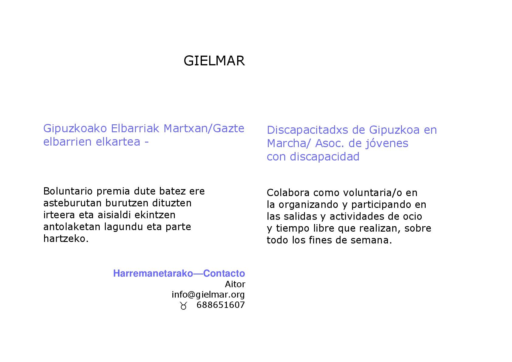Boluntario premia / Colabora como voluntario