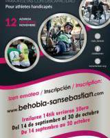 Behobia-Donostia izen ematea / Inscripción