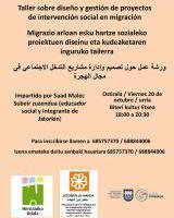 Taller sobre diseño y gestión de proyectos de intervención social en migración