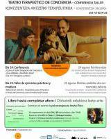 TEATRO TERAPÉUTICO DE CONCIENCIA (pase gratuito. necesaria reserva)