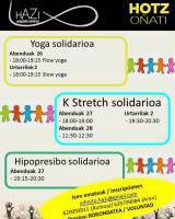 Hotz Oñati - Gabonetako saio solidarioak