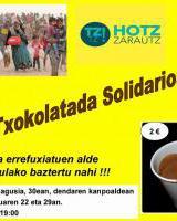 Hotz Zarautz - Txokolatada Solidarioa