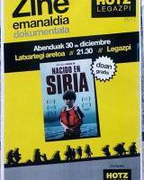 "Hotz Legazpi - ""Nacido en Siria"" dokumentala"