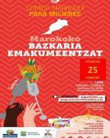 Comida Marroquí para mujeres / Marokoko Bazkaria emakumeentzat
