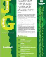 Diálogos para un voluntariado transformador / Boluntariotza eraldatzaile baterako solasaldiak