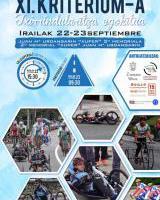 XI Criterium Zarautz de Ciclismo Adaptado / Txirrindularitza Egokituko Zarautz XI. Kriteriuma