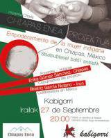 Chiapas Enea elkartearen hitzaldia