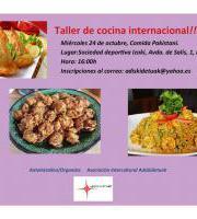 Sukaldari tailerra / Taller cocina
