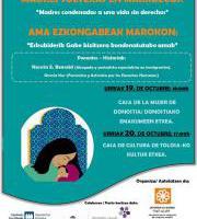 Conferencia / Hitzaldia: Madres condenadas a una vida sin derechos