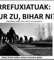 Erakusketa - Errefuxiatuak: Gaur zu, bihar ni? / Refugiados: Hoy tu, mañana yo?