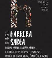 Manifestazioa: Euskal Herria, harrera herria - Dignidad, Derechos y Alternativas