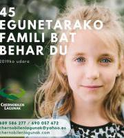 Chernobilen Lagunak G.K.N - Egunetarako famili bar behar du