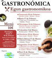 Egun Gastronomikoa / Jornada Gastronomica - PERU