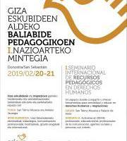 Baliabide pedagogikoen mintegia / Seminario: Recursos Pedagogicos