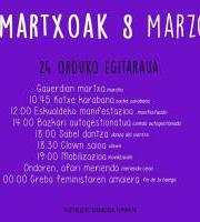M8 Nazioarteko Emakumeen Eguna  / 8M Día Internacional de las Mujeres