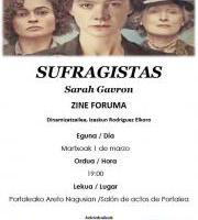 Zine-Foruma: Sufragistas