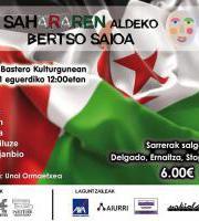Sesión de Bersolaris a favor del Sahara / Sahararen Aldeko Bertso Saioa
