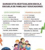 Escuela de familias y educadores / Guraso eta hezitzaileen eskola