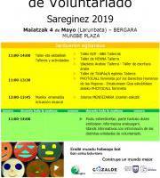 Sareginez 2019 - Boluntariotza FERIA