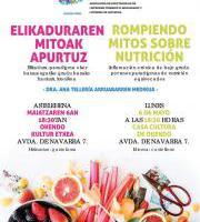 Agadelprise - Rompiendo mitos sobre la nutrición / Elikaduraren Mitoak Apurtuz