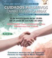 Hitzaldia: Cuidados Paliativos / Zainketa Aringarriak