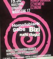 LGTBIfobiaren kontrako Nazioarteko Eguna / Día Internacional contra la LGTBIfobia