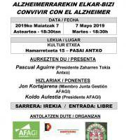 Hitzaldia: Alzheimer