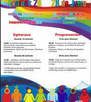 Ekainak 28: LGTBI+ Pertsonen Eskubideen Aldeko Nazioarteko Eguna