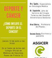 Hitzakdia: Deporte y Cancer