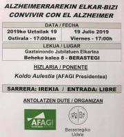 Afagi Alzheimer Gipuzkoa - Hitzaldia