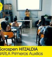 Charla GRATUITA Primeros Auxilios / Lehen Sorospenak DOAKO hitzaldia.