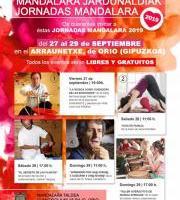 MANDALARA JARDUNALDIAK  - 2019 - JORNADAS MANDALARA