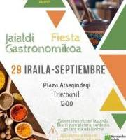 Hernaniko Jaialdi Gastronomikoa | Fiesta Gastronómica