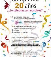 XX Aniversario de la Asociación Síndrome X frágil del País Vasco