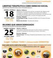 CONFERENCIAS SALUDABLES  : DIA 18 : LIBERTAD TERAPÉUTICA / DIA 25:  SANANDO RELACIONES