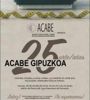 Acabe Gipuzkoa - 25 Urte