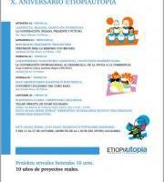 ETIOPIAUTOPIA-ren X. URTEURRENA *PROGRAMA ACTIVIDADES*