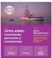 Hitzaldia: Open Arms
