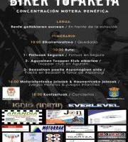 Biker Topaketa / Concentración motera solidaria