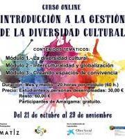 """Curso online GRATUITO: """"INTRODUCCIÓN A LA GESTIÓN DE LA DIVERSIDAD CULTURAL"""""""