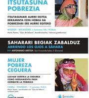 """Hitzaldi-Solasaldia: """"Mujer-Ceguera-Pobreza"""""""