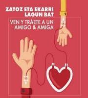 Odol emateak /// Donaciones de sangre