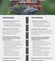 Jornada Despilfarro de Alimentos/Elikagaien Xahuketaren Jardunaldia