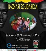 Bazkari solidarioa KLINK Comida solidaria (BERTAN BEHERA)