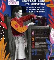 Erakusketa: Emakumeen ekarpenak Eibarko industrian/Aportación de la mujer en la industria de Eibar