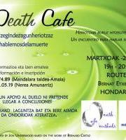 Death Café Hondarribia. Heriotzaz hizketan (BERTAN BEHERA)