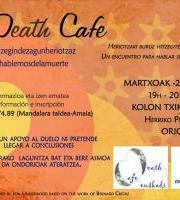 Death café Orio, Heriotzaz hizketan (BERTAN BEHERA)