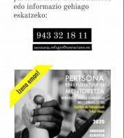 Mentoría con personas refugiadas 2020 / Pertsona errefuxiatuekin mentoretza 2020