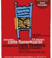 Camelamos Adiquerar - Donostiako Cante Flamenko XX. Lehiaketa