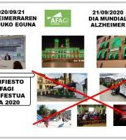 Día Mundial Alzheimer / Alzheimerraren Munduko Eguna 2020